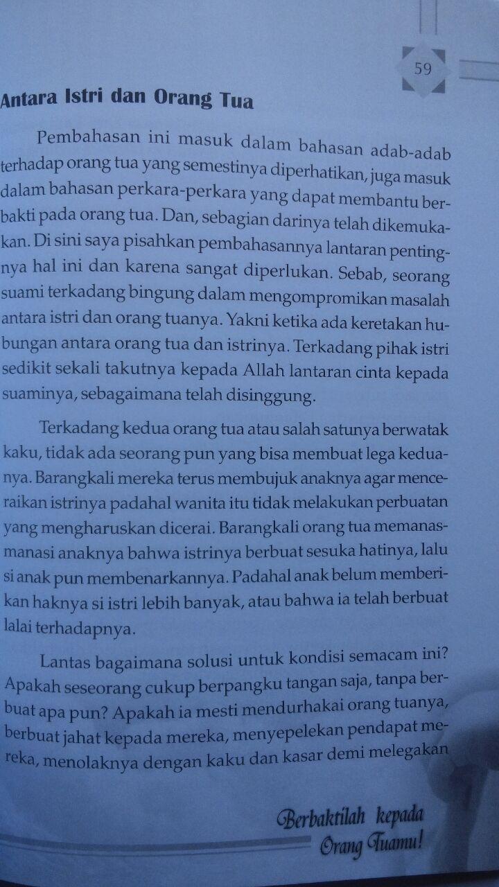 Buku Jangan Durhakai Ibumu 22.500 15% 19.125 Zam Zam Muhammad Ibrahim Al-Hamd Sulaiman Ash-Shuqayyir isi