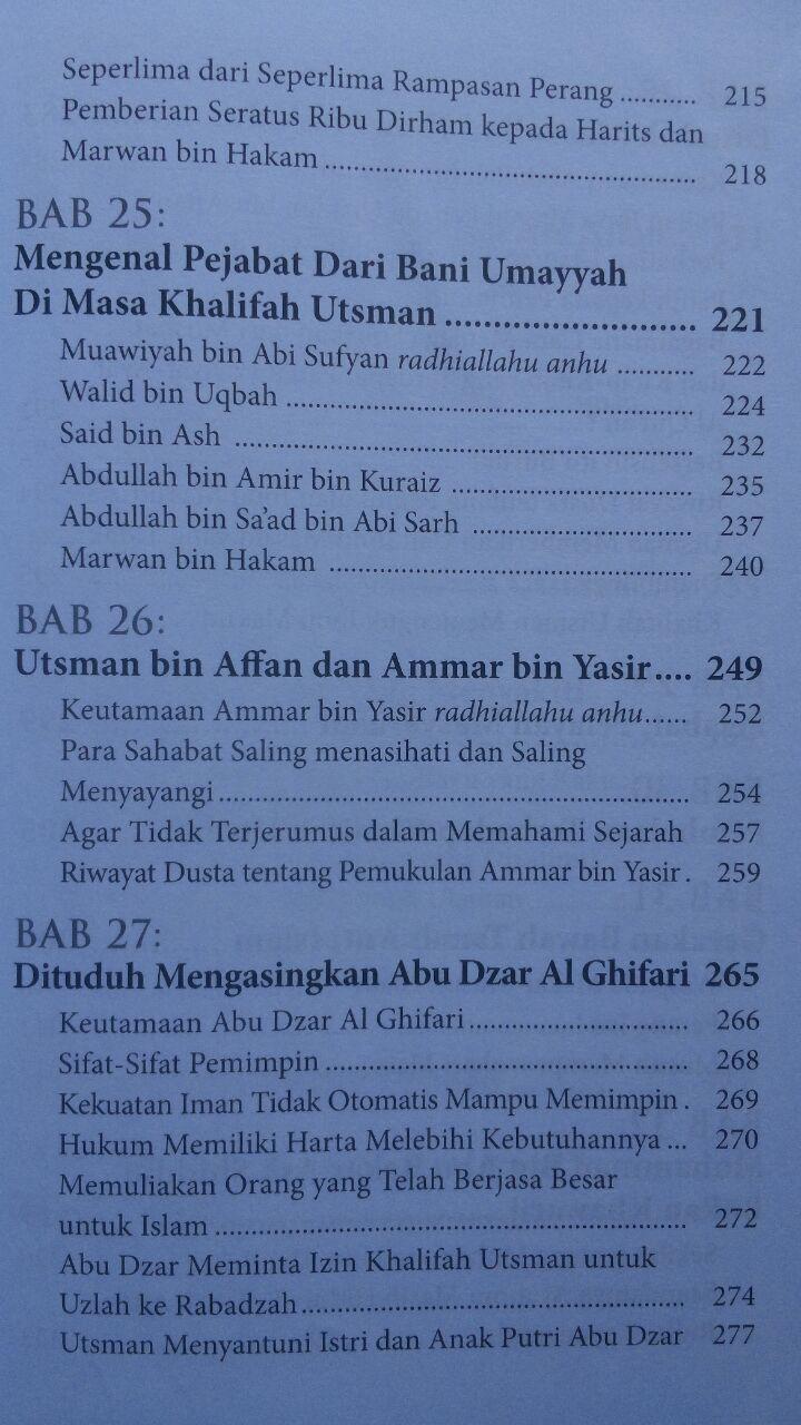 Buku Kepemimpinan Dan Keteladanan Utsman Bin Affan 100.000 20% 80.000 Daun Publishing Fariq Gasim Anuz isi 2