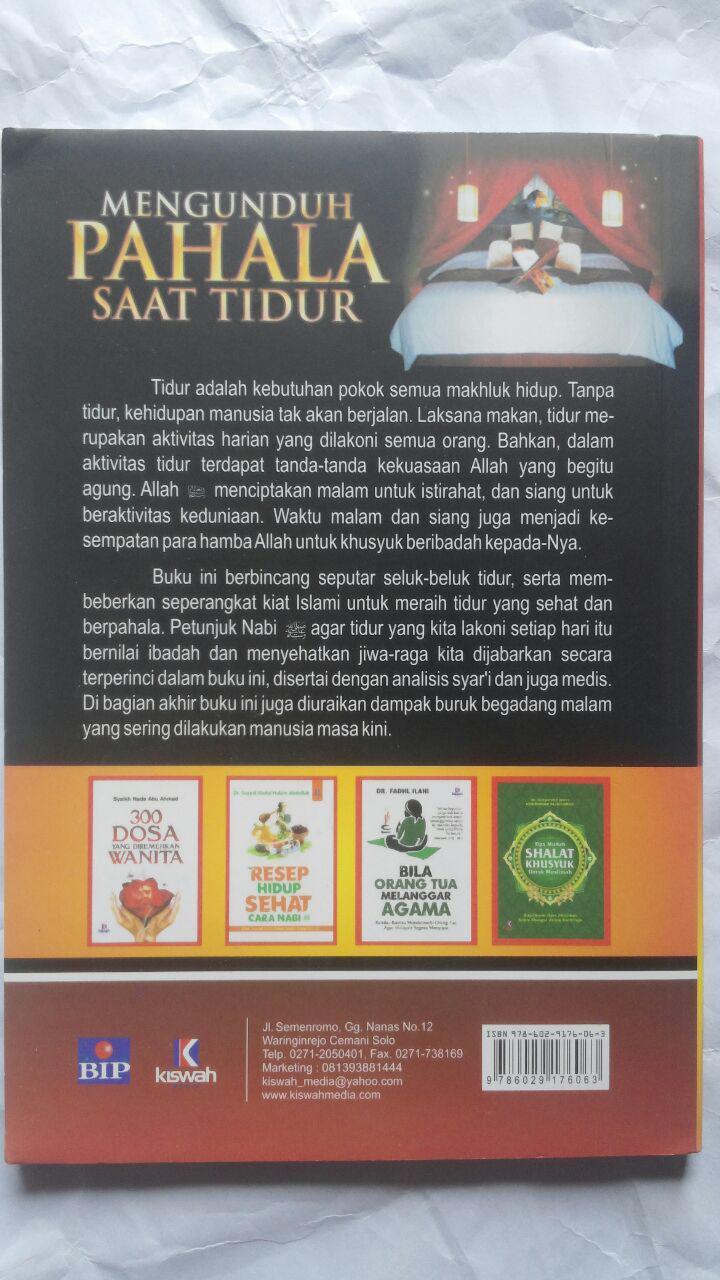 Buku Kiat Tidur Sehat Dan Berpahala 23.000 15% 19.550 Kiswah Media Muawiyah Abdurrahim Kunnah Abdullah bin Jarullah Al-Jarullah cover