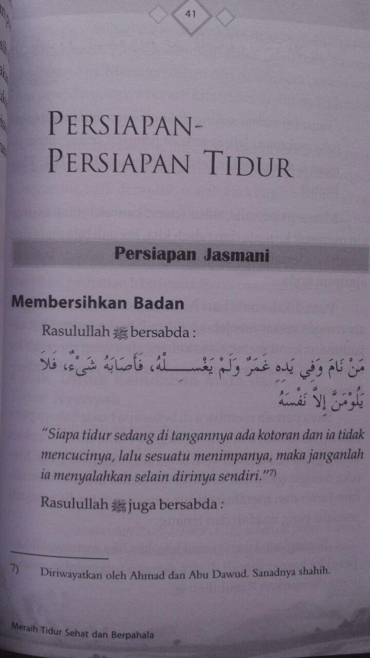 Buku Kiat Tidur Sehat Dan Berpahala 23.000 15% 19.550 Kiswah Media Muawiyah Abdurrahim Kunnah Abdullah bin Jarullah Al-Jarullah isi