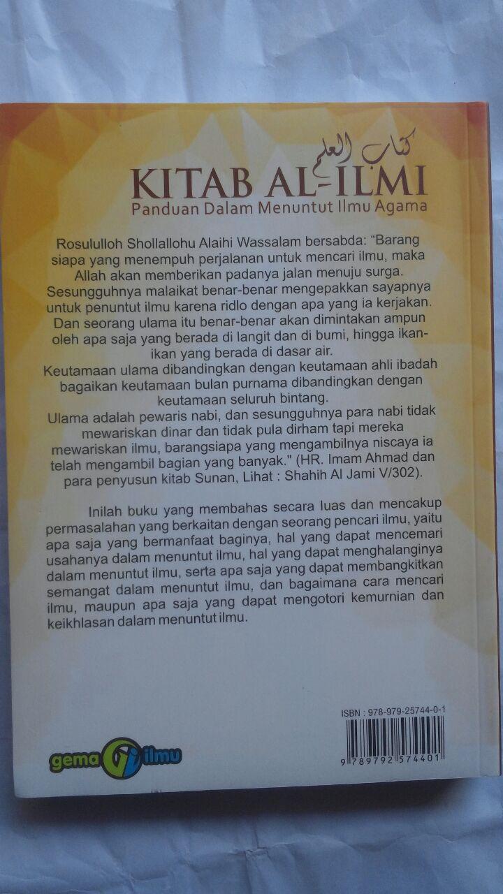 Buku Kitab Al-Ilmi Panduan Dalam Menuntut Ilmu Agama 78,000 20% 62,400 Gema Ilmu cover 2