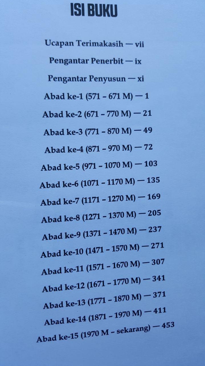 Buku Kronologi Sejarah Islam Dan Dunia 571 - 2016 Masehi 185.000 20% 148.000 Pustaka Al-Kautsar isi 4