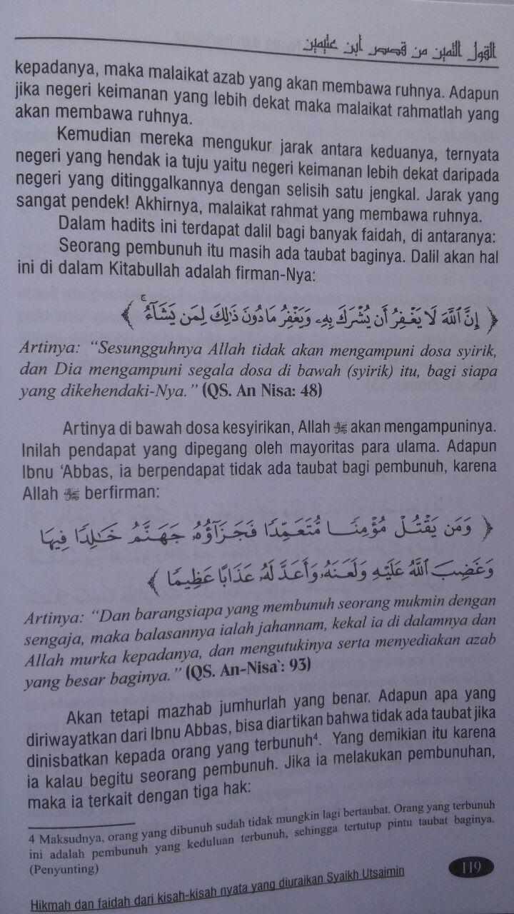 Buku Lautan Hikmah Dari Kisah-Kisah Nyata Dan Berharga 105.000 20% 84.000 Buana Ilmu Islami Shalahuddin Mahmud As-Sa'id isi 2