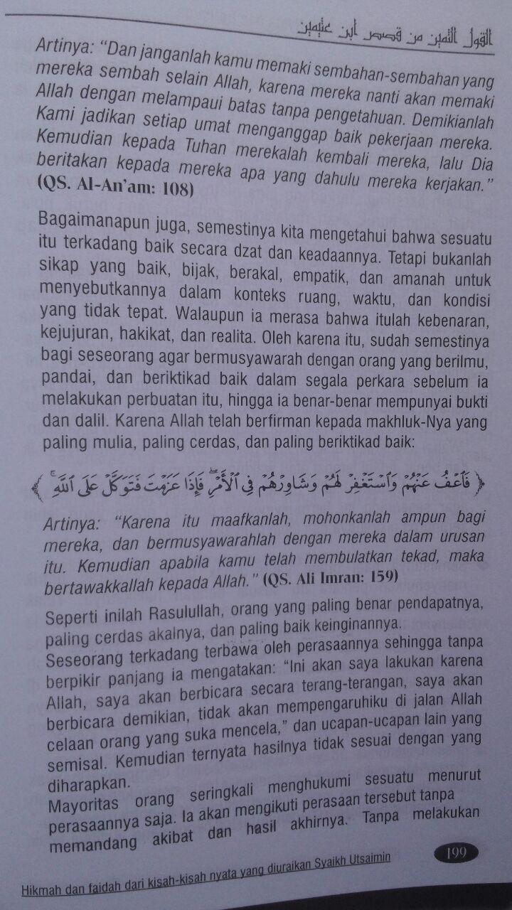 Buku Lautan Hikmah Dari Kisah-Kisah Nyata Dan Berharga 105.000 20% 84.000 Buana Ilmu Islami Shalahuddin Mahmud As-Sa'id isi
