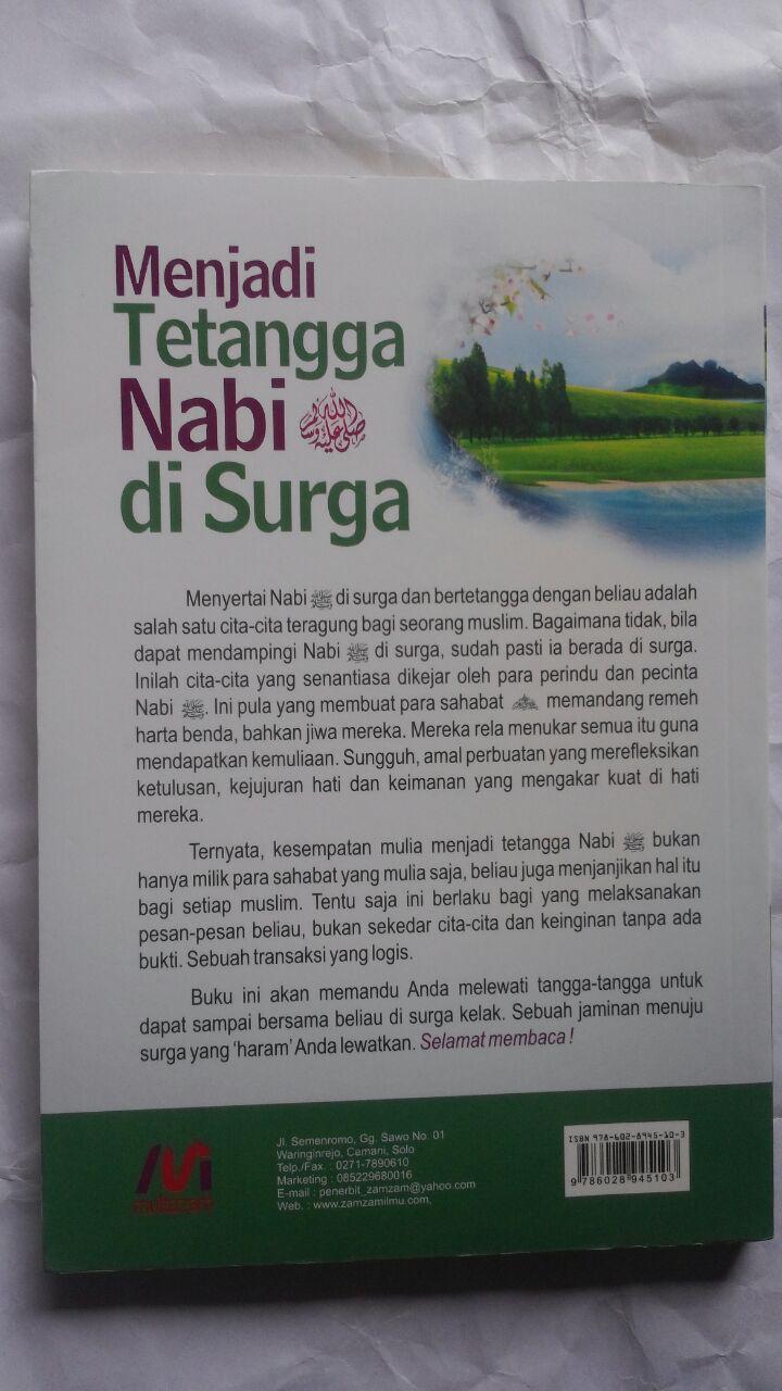 Buku Menjadi Tetangga Nabi Di Surga 32.000 15% 27.200 Multazam Abu Malik Adnan Al-Maqthari cover