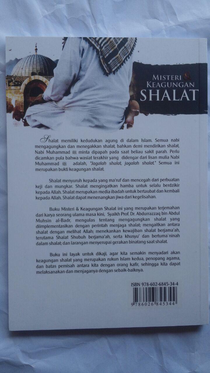 Buku Misteri Dan Keagungan Shalat 30.000 15% 25.500 Darul Haq cover 2