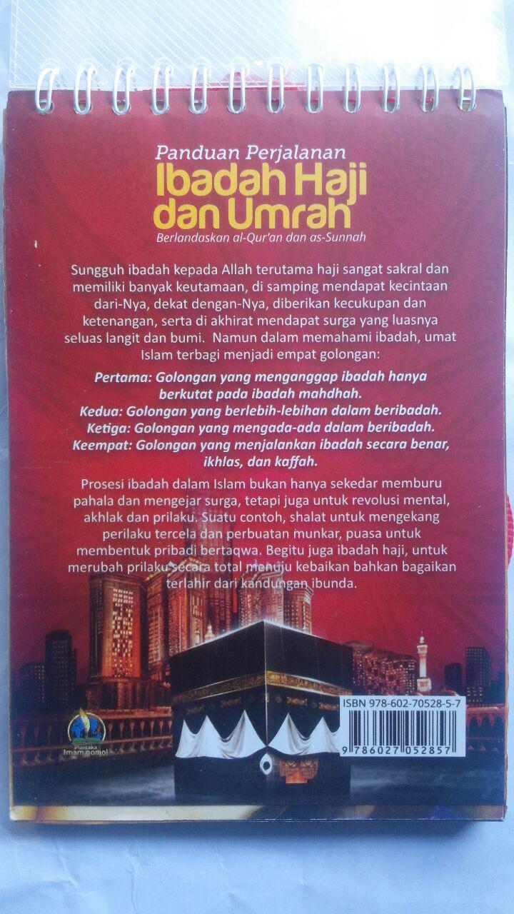 Buku Panduan Perjalanan Ibadah Haji Dan Umrah 40.000 20% 32.000 Pustaka Imam Bonjol Zainal Abidin bin Syamsudin, Lc cover 2