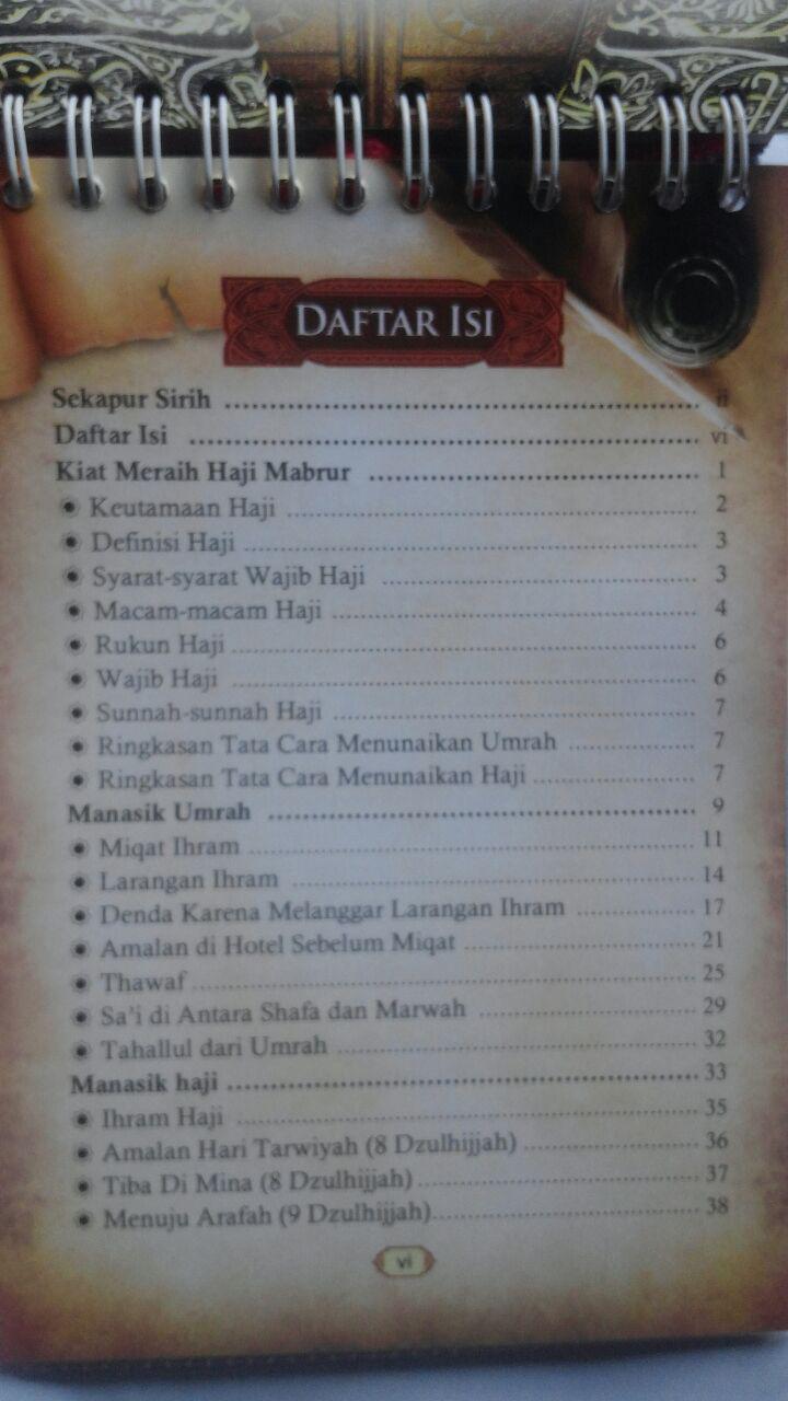Buku Panduan Perjalanan Ibadah Haji Dan Umrah 40.000 20% 32.000 Pustaka Imam Bonjol Zainal Abidin bin Syamsudin, Lc isi 2