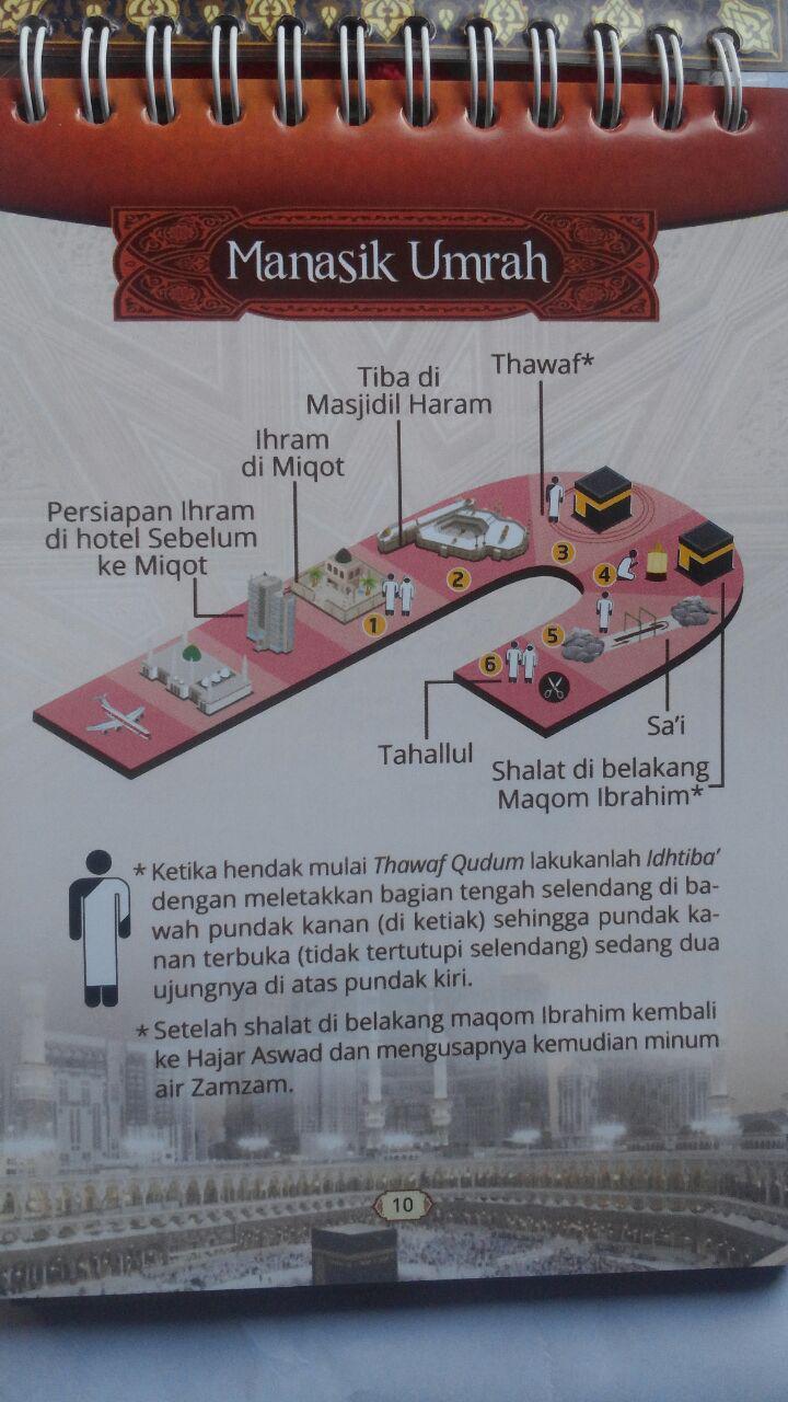 Buku Panduan Perjalanan Ibadah Haji Dan Umrah 40.000 20% 32.000 Pustaka Imam Bonjol Zainal Abidin bin Syamsudin, Lc isi