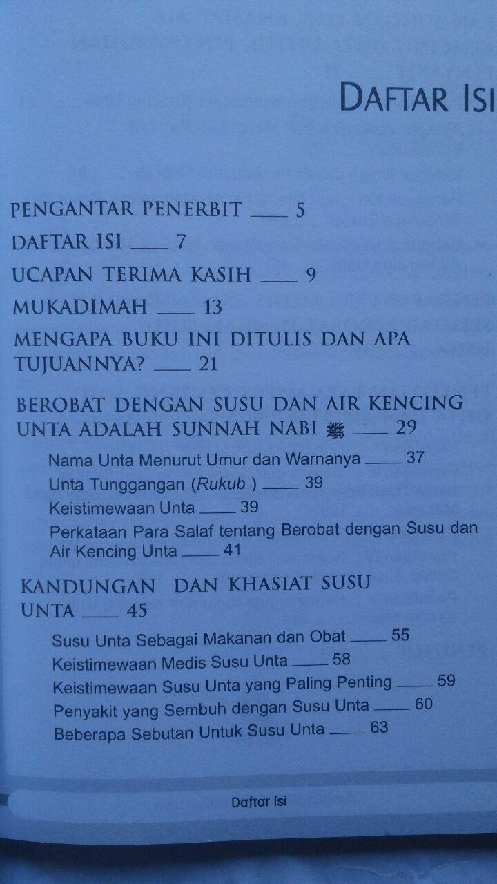 Buku Sembuh Dengan Air Kencing Unta 26.000 15% 22.100 Kiswah Media Syihab Al-Badri Yasin isi 3