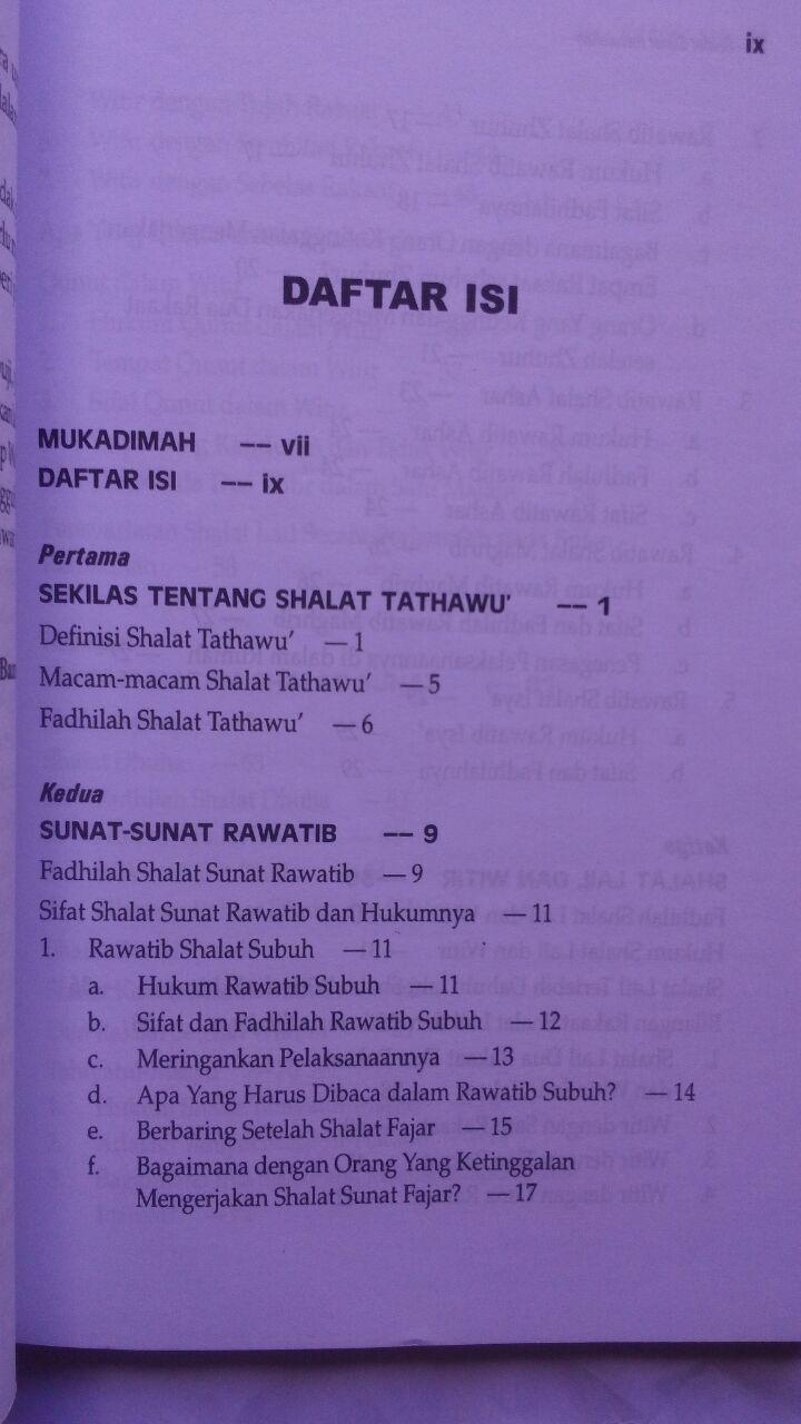Buku Shalat Sunat Rasulullah 21.000 15% 17.850 Darul Falah isi 2