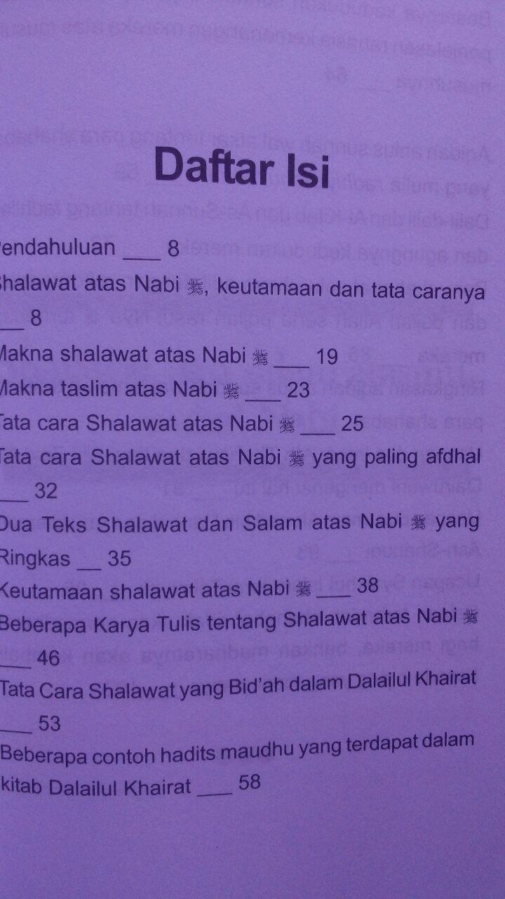 Buku Shalawat Dan Salam Atasmu Wahai Nabi 18.500 15% 15.725 Gema Ilmu Syaikh Abdul Muhsin bin Hamd Al-Abbad Al-Badr isi 2