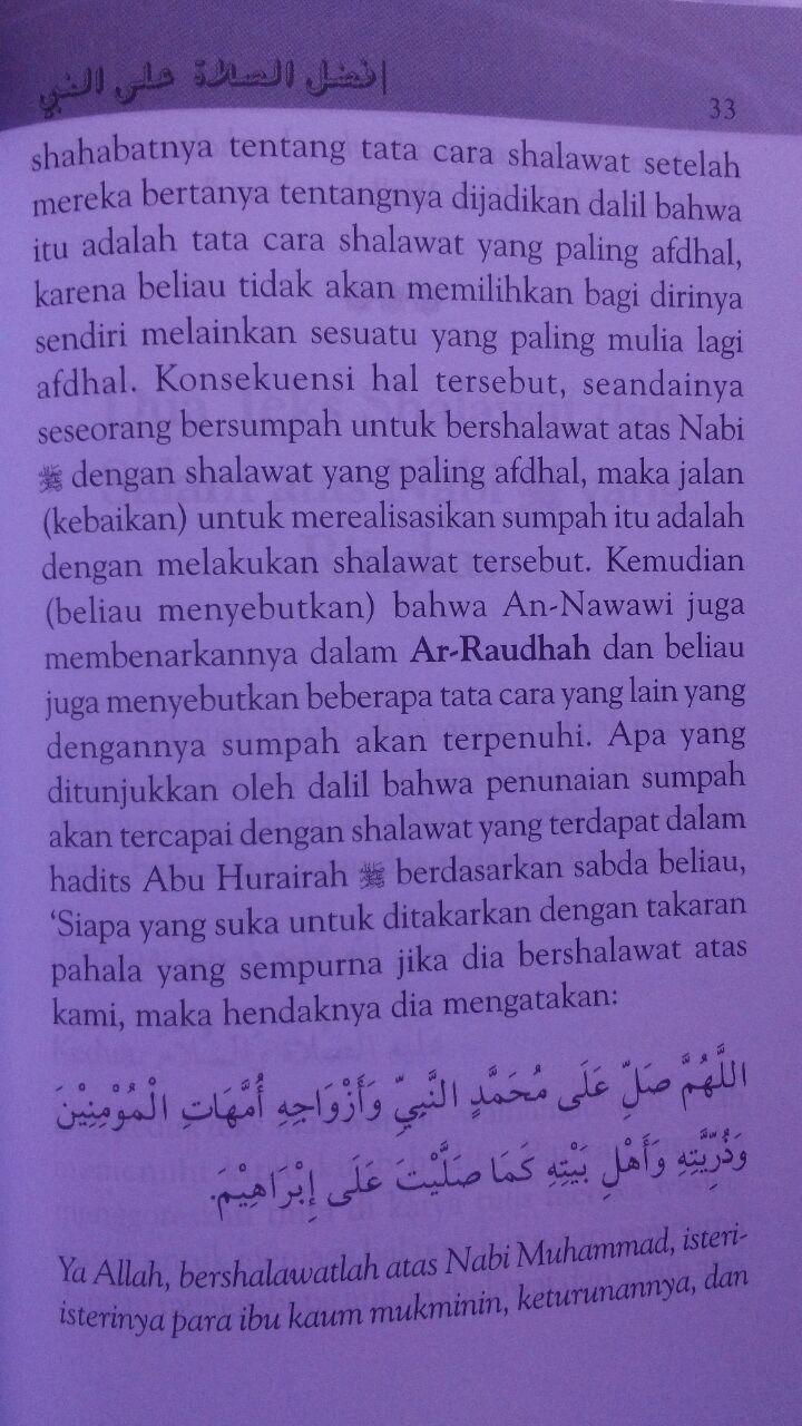 Buku Shalawat Dan Salam Atasmu Wahai Nabi 18.500 15% 15.725 Gema Ilmu Syaikh Abdul Muhsin bin Hamd Al-Abbad Al-Badr isi