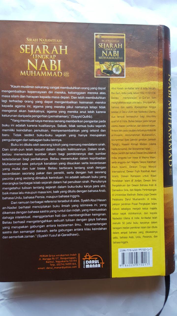 Buku Sirah Nabawiyah Sejarah Lengkap Nabi Muhammad 135.000 20% 108.000 Darul Manar cover 2