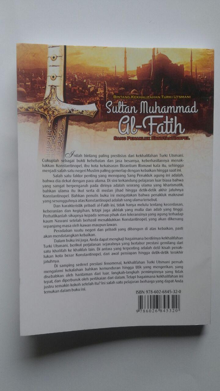 Buku Sultan Muhammad Al-Fatih Sang Penakluk Konstantinopel 40.000 15% 34.000 Darul Haq DR. Ali Muhammad Ash-Shallabi cover
