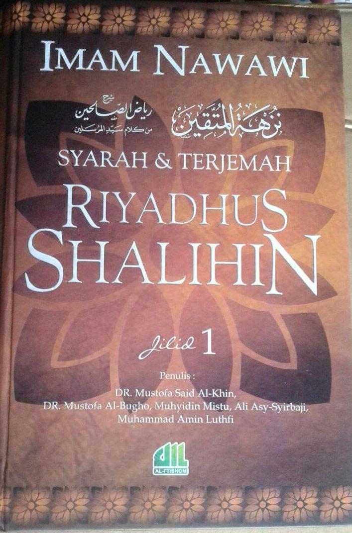 Buku Syarah Dan Terjemah Riyadhus Shalihin 1 Set 2 Jilid cover 2