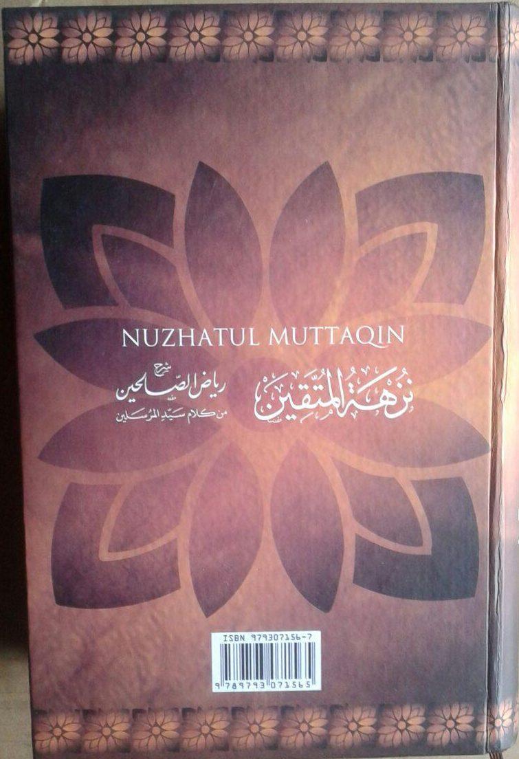 Buku Syarah Dan Terjemah Riyadhus Shalihin 1 Set 2 Jilid cover 3