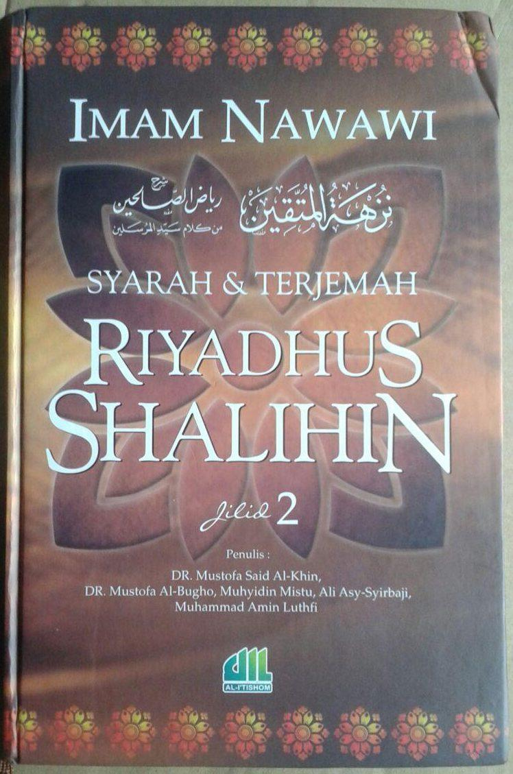 Buku Syarah Dan Terjemah Riyadhus Shalihin 1 Set 2 Jilid cover 4