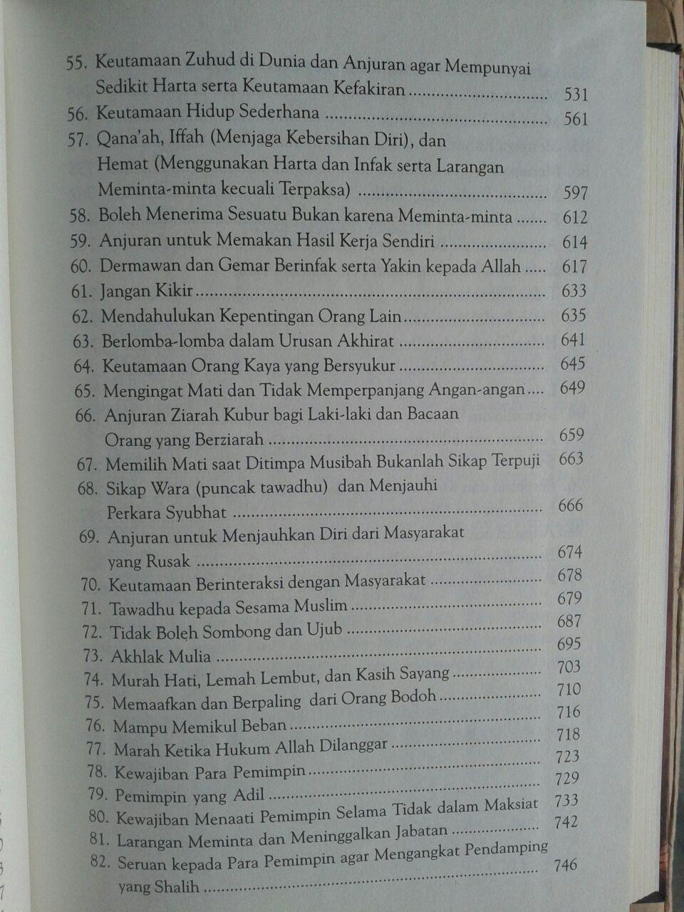 Buku Syarah Dan Terjemah Riyadhus Shalihin 1 Set 2 Jilid isi 3