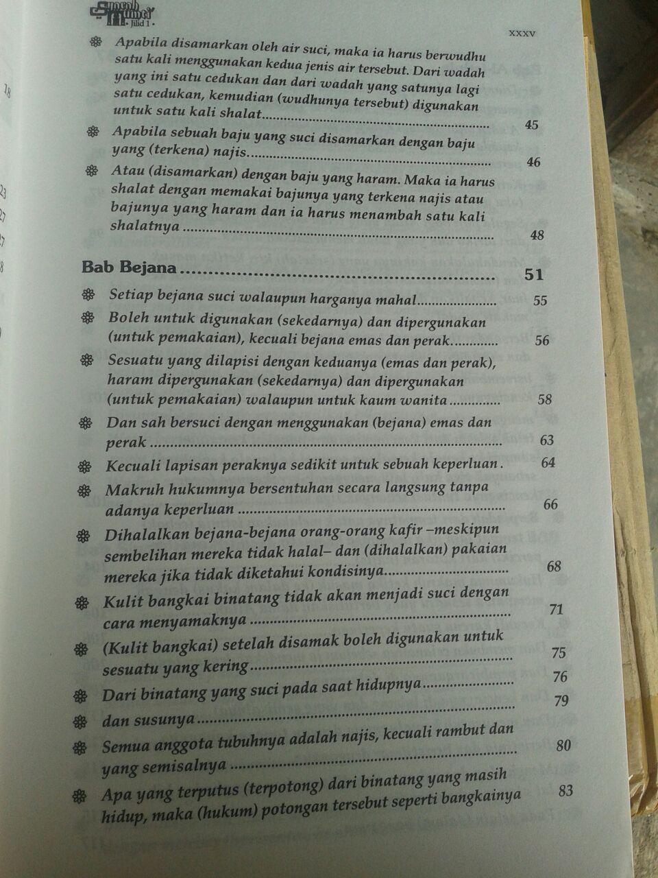 Buku Syarah Mumti' Oleh Syaikh Utsaimin 1 Set 4 Jilid isi 4