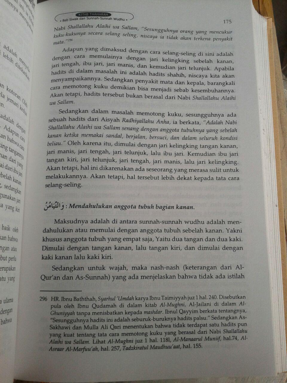Buku Syarah Mumti' Oleh Syaikh Utsaimin 1 Set 4 Jilid isi