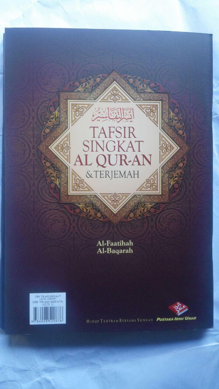 Buku Tafsir Singkat Al-Quran Dan Terjemah Kecil Set 30 Jilid 450.000 25% 337.500 Pustaka Ibnu Umar DR. As'ad Mahmud Humad cover 2