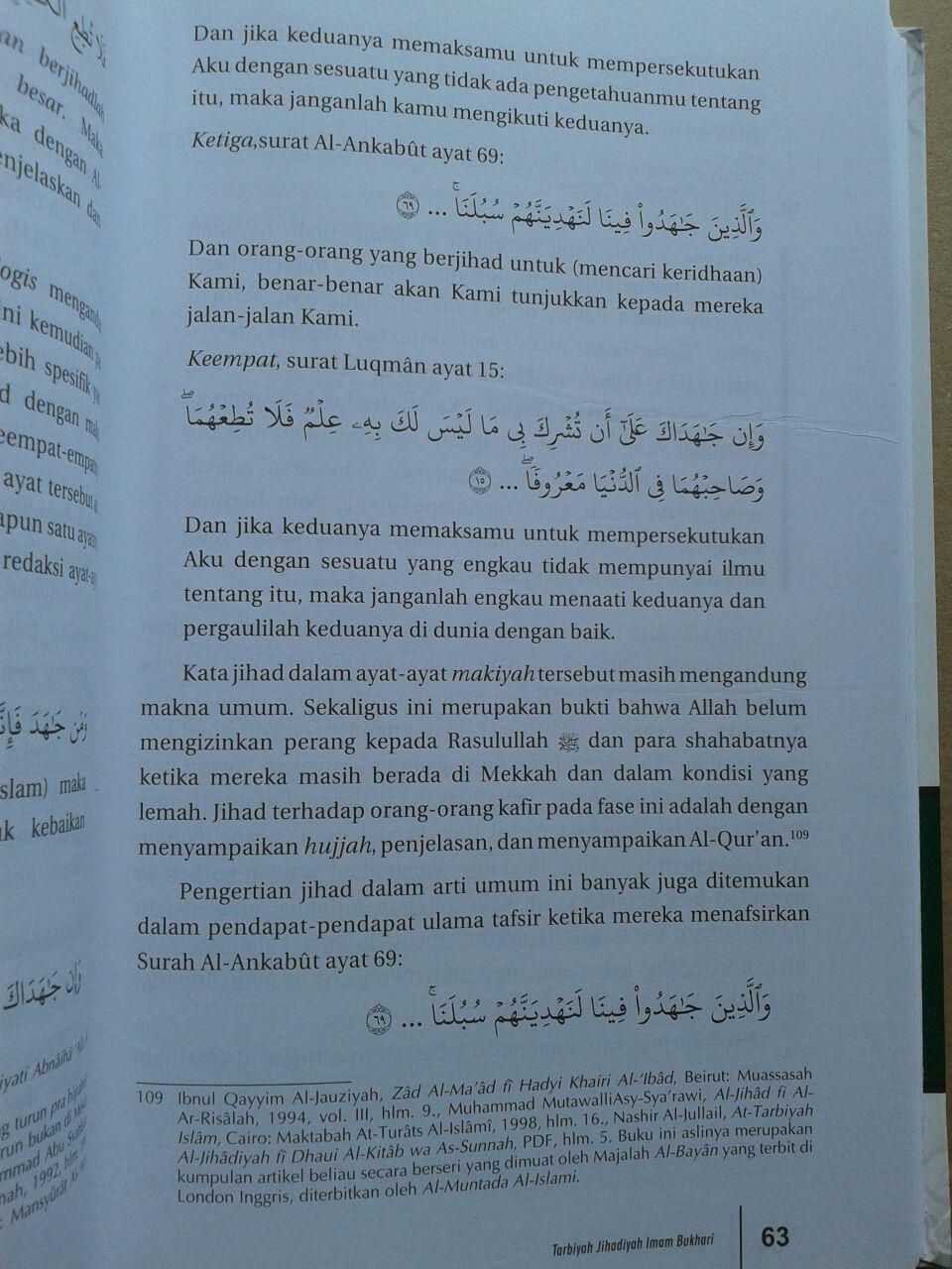 Buku Tarbiyah Jihadiyah Imam Bukhari isi 2