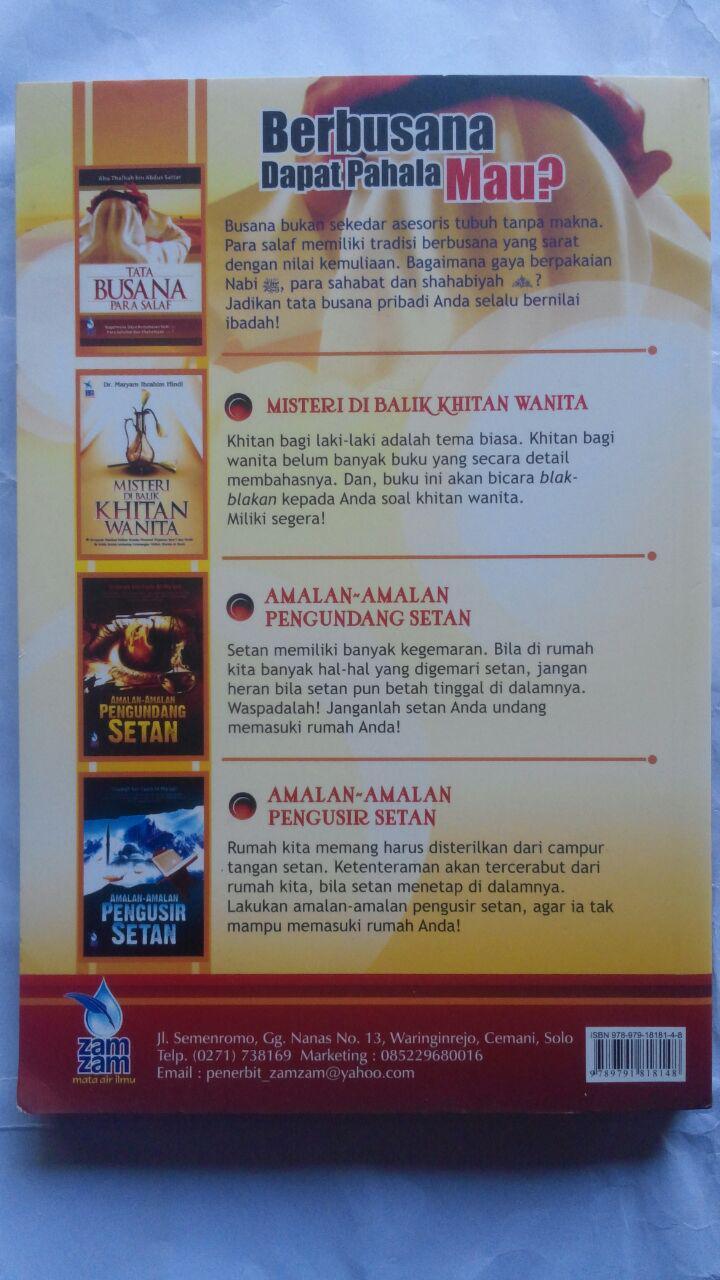 Buku Tata Busana Para Salaf 39.500 15% 33.575 Zam Zam Abu Thalhah bin Abdus Sattar cover