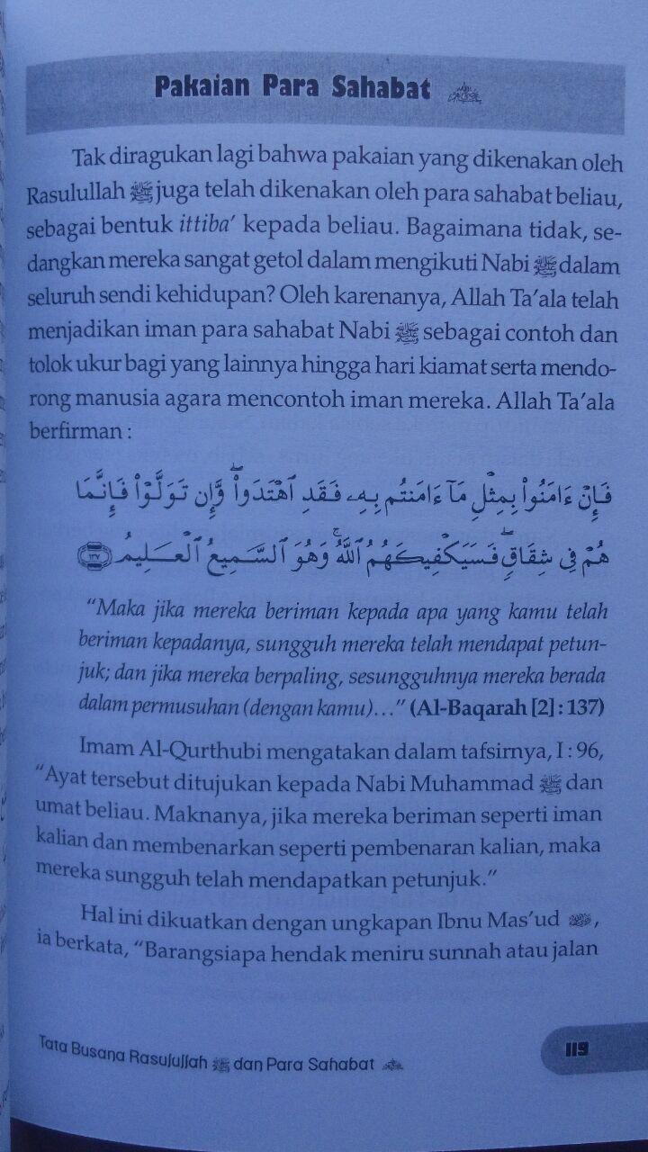 Buku Tata Busana Para Salaf 39.500 15% 33.575 Zam Zam Abu Thalhah bin Abdus Sattar isi
