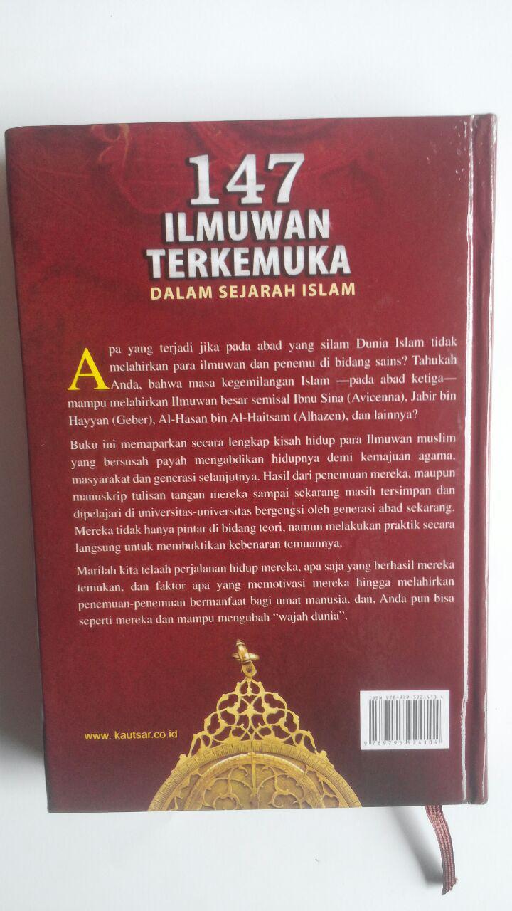 Buku 147 Ilmuwan Terkemuka Dalam Sejarah Islam 70.000 20% 56.000 Pustaka Al-Kautsar Muhammad Gharib Gaudah cover