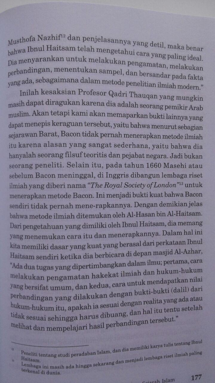 Buku 147 Ilmuwan Terkemuka Dalam Sejarah Islam 70.000 20% 56.000 Pustaka Al-Kautsar Muhammad Gharib Gaudah isi 5