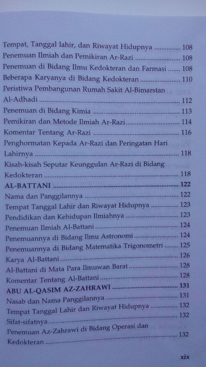 Buku 147 Ilmuwan Terkemuka Dalam Sejarah Islam 70.000 20% 56.000 Pustaka Al-Kautsar Muhammad Gharib Gaudah isi
