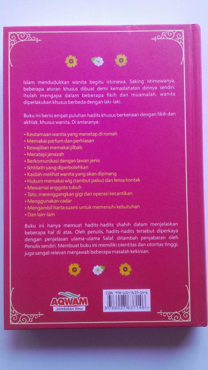 Buku 40 Hadits Wanita Bunga Rampai Hadits Fikih Dan Akhlak 89.000 20% 71.200 Aqwam Syaikh Muhammad Asy-Syarif cover