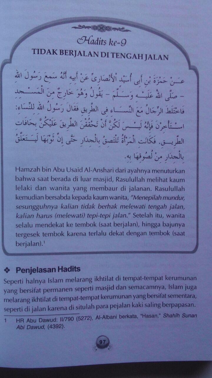 Buku 40 Hadits Wanita Bunga Rampai Hadits Fikih Dan Akhlak 89.000 20% 71.200 Aqwam Syaikh Muhammad Asy-Syarif isi 3
