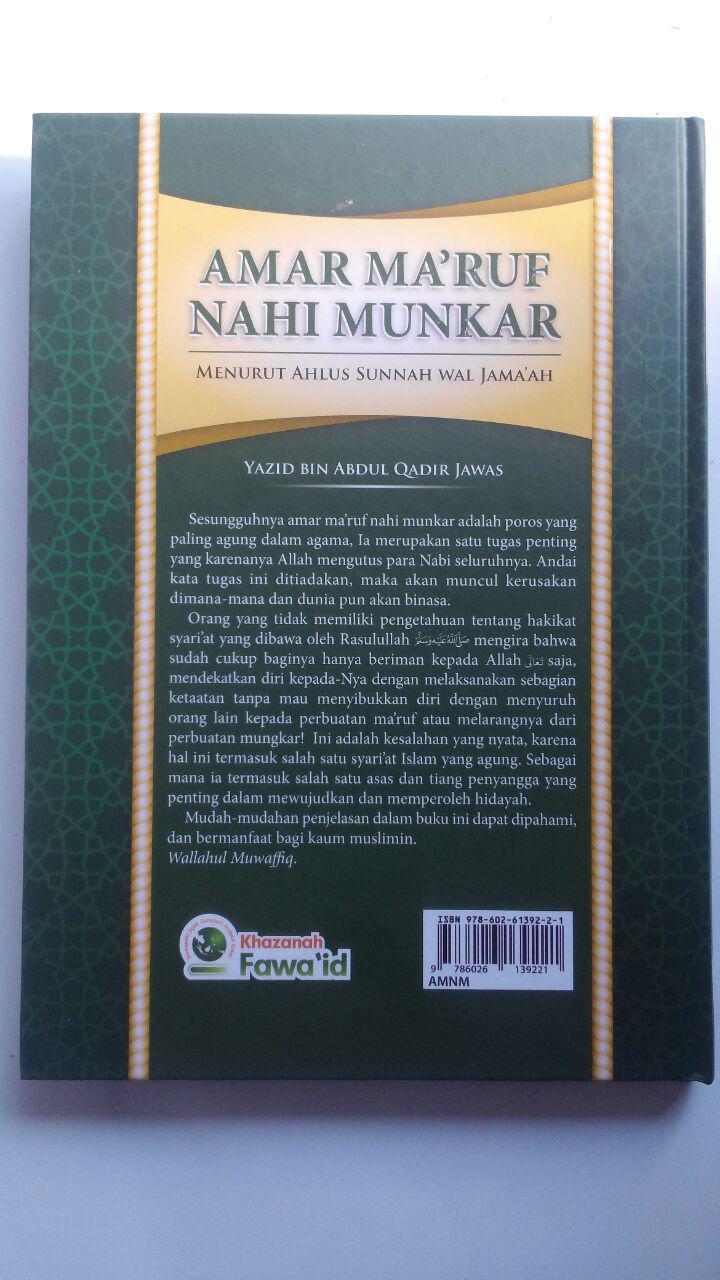 Buku Amar Maruf Nahi Munkar Menurus Ahlus Sunnah Wal Jamaah 88.000 20% 70.400 Khazanah Fawaid Yazid bin Abdul Qadir Jawas cover