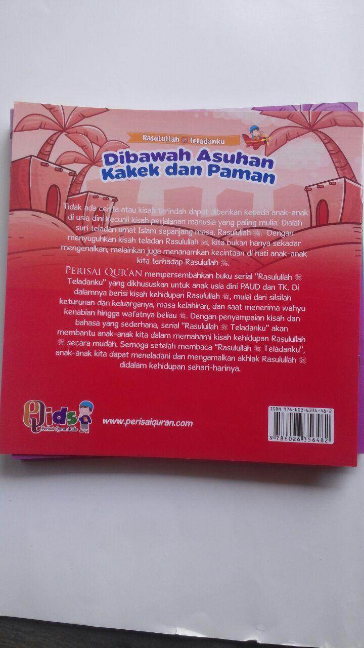 Buku Anak Rasulullah Teladanku Ayo Mencontoh Rasulullah 137.000 20% 109.600 Perisai Quran Tim Perisai Quran isi 2