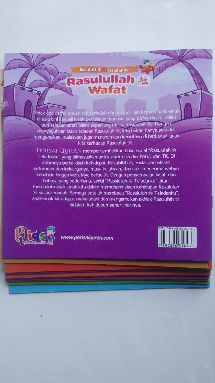 Buku Anak Rasulullah Teladanku Ayo Mencontoh Rasulullah 137.000 20% 109.600 Perisai Quran Tim Perisai Quran isi 3