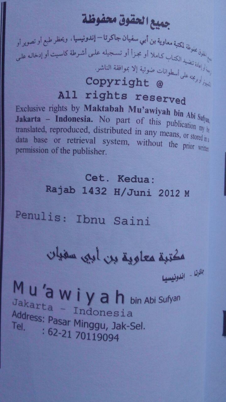 Buku Apa Kata Imam Syafi'i Tentang Adzan Jum'at Dua Kali 12.000 15% 10.200 Maktabah Muawiyah Bin Abi Sufyan Abdul Hakim bin Amir Abdat isi 2