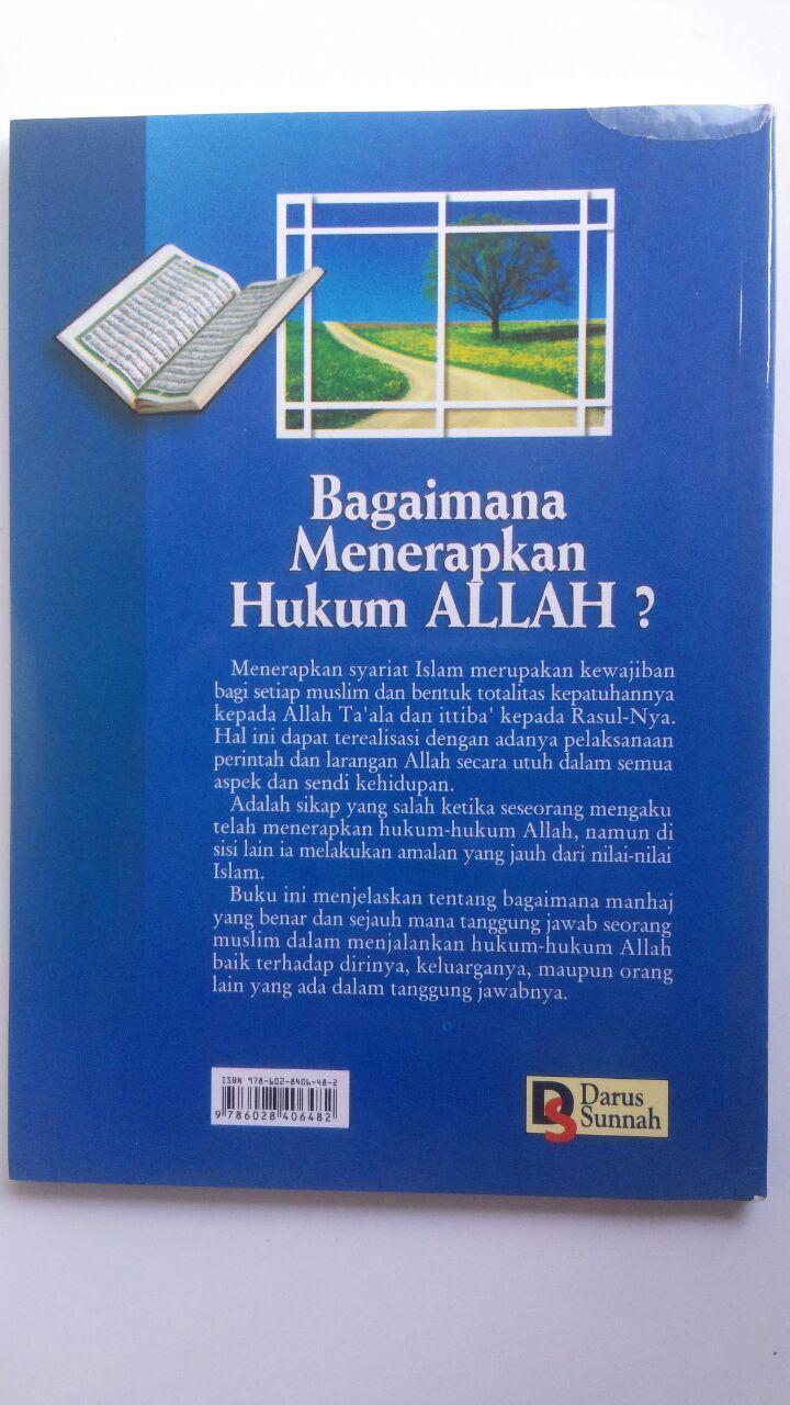 Buku Bagaimana Menerapkan Hukum Allah 15.000 15% 12.750 Darus Sunnah Husain bin Audah Al-Awayisyah cover