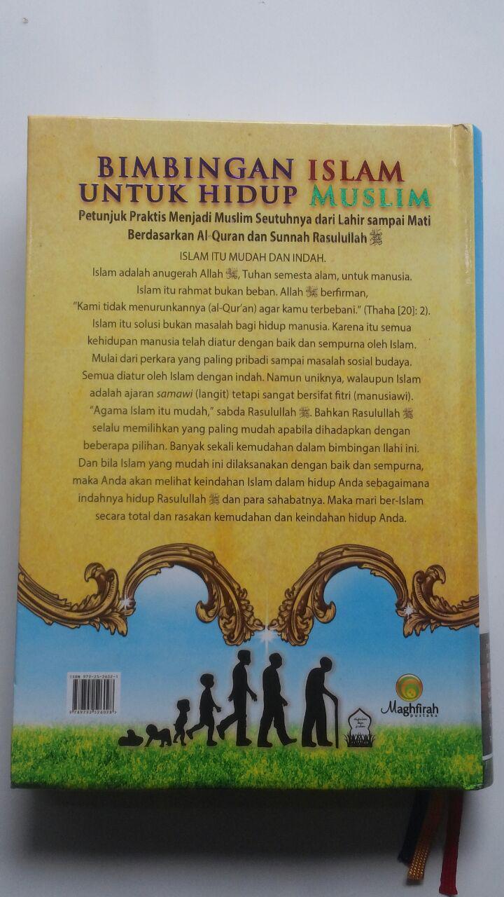 Buku Bimbingan Islam Untuk Hidup Muslim 235.000 20% 188.000 Pustaka Maghfirah cover