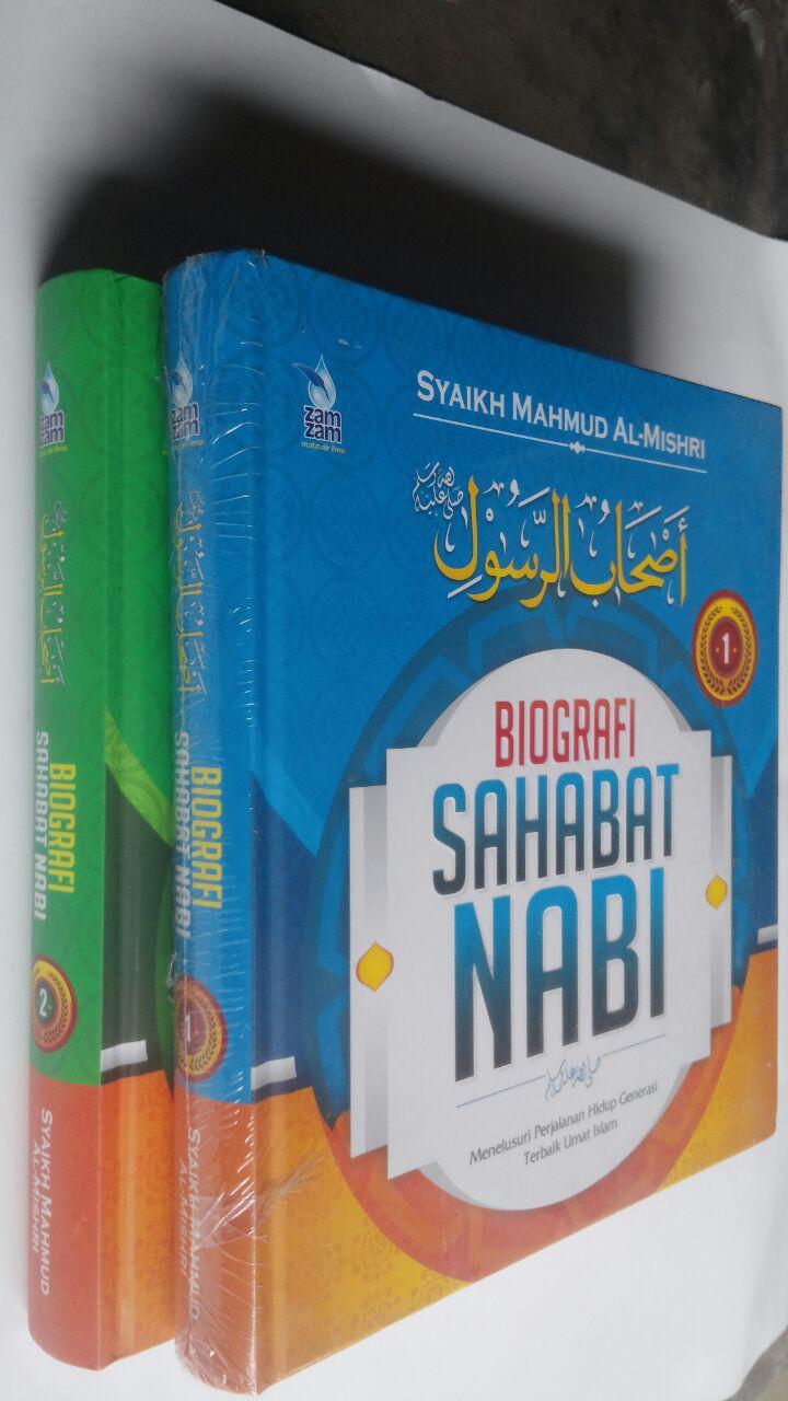 Buku Biografi Sahabat Nabi Set 2 Jilid 270.000 20% 216.000 Zam Zam Mahmud Al-Mishri cover 2