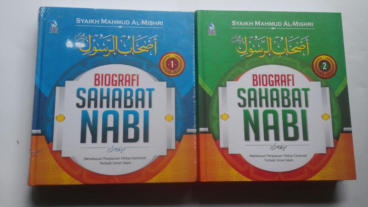 Buku Biografi Sahabat Nabi Set 2 Jilid 270.000 20% 216.000 Zam Zam Mahmud Al-Mishri cover 3