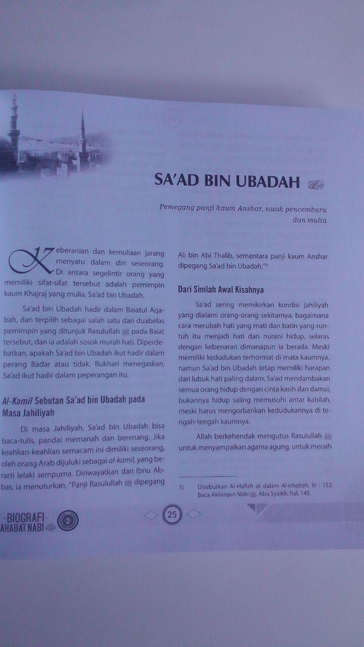 Buku Biografi Sahabat Nabi Set 2 Jilid 270.000 20% 216.000 Zam Zam Mahmud Al-Mishri isi 3
