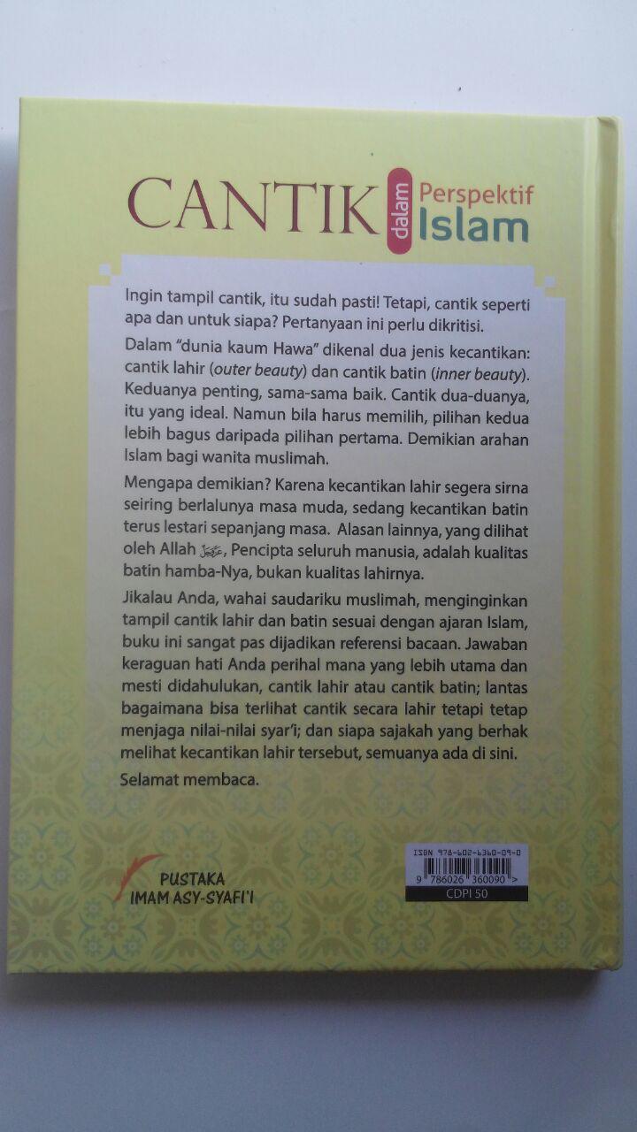 Buku Cantik Dalam Perspektif Islam 50.000 20% 40.000 Pustaka Imam Asy-Syafi'i cover