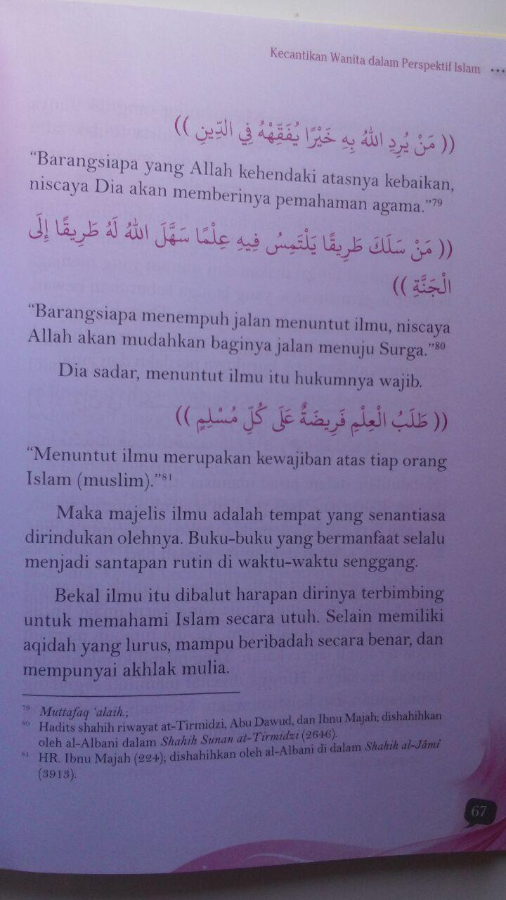 Buku Cantik Dalam Perspektif Islam 50.000 20% 40.000 Pustaka Imam Asy-Syafi'i isi 3