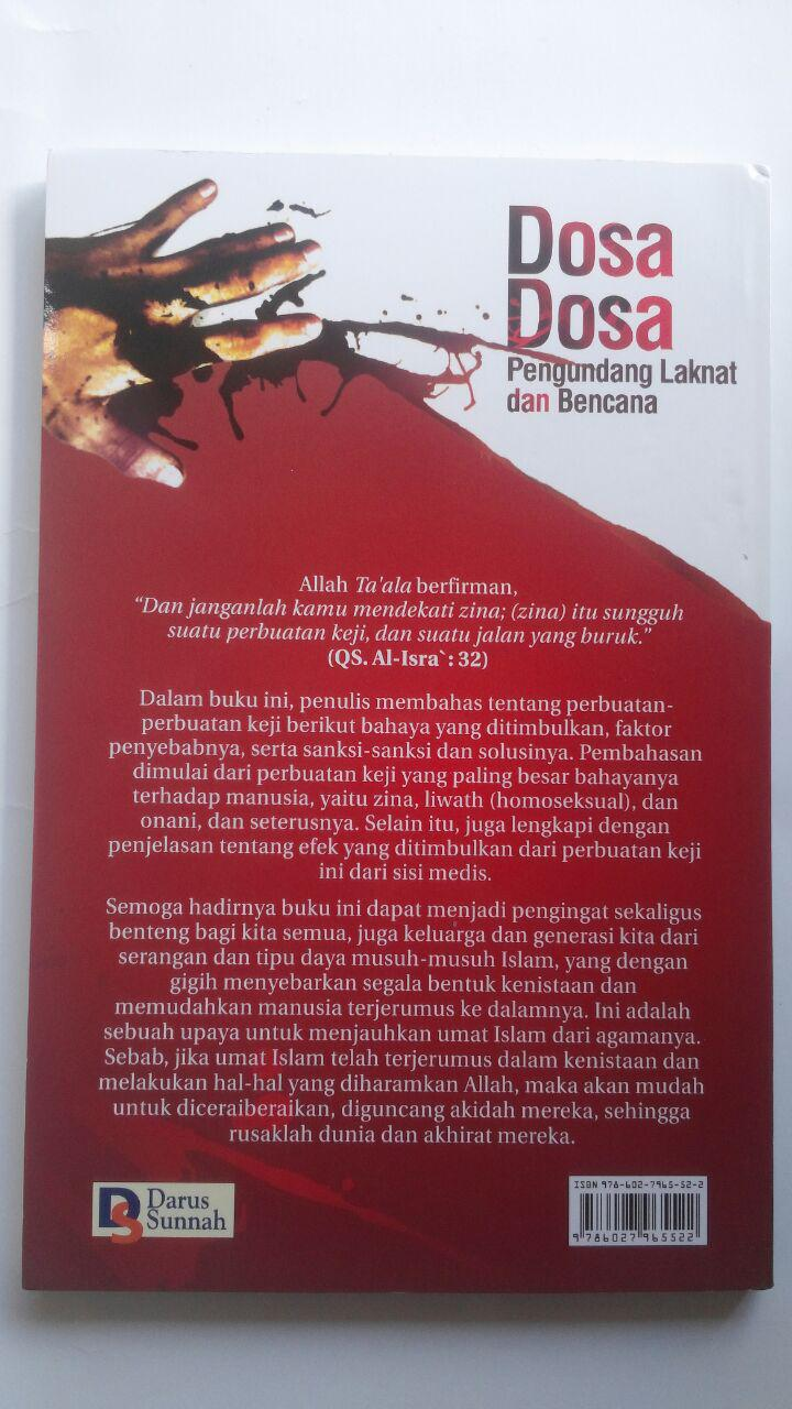 Buku Dosa-Dosa Pengundang Laknat Dan Bencana 25.000 15% 21.250 Darus Sunnah Jamal Bin Abdurrahman Ismail cover