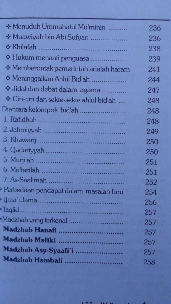 Buku Engkaulah Bidadari Surga 30.000 15% 25.500 Pustaka Al-Haura Muhammad bin Abdul Wahhab Al-Wushabiy isi