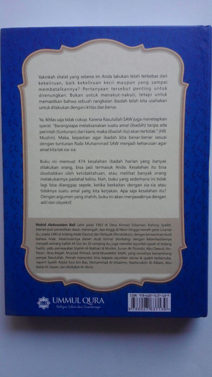 Buku Ensiklopedi Kesalahan Dalam Ibadah 95.000 20% 76.000 Ummul Qura Syaikh Wahid Abdus Salam Bali cover