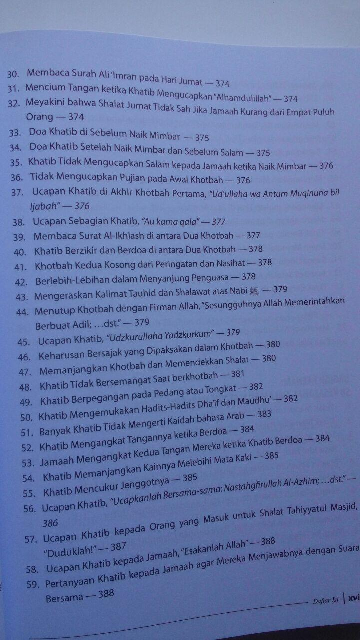 Buku Ensiklopedi Kesalahan Dalam Ibadah 95.000 20% 76.000 Ummul Qura Syaikh Wahid Abdus Salam Bali isi 3