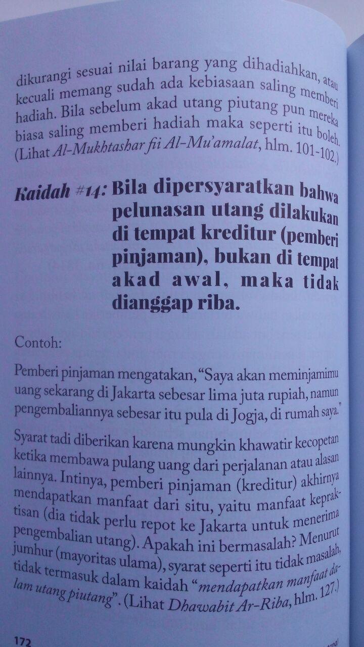 Buku Fikih Muamalah Taubat Dari Utang Riba Dan Solusinya 125.000 20% 100.000 Rumaysho isi 4